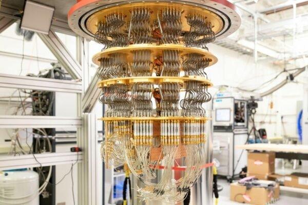 گوگل از یک مرکز پردازش کوانتومی جدید رونمایی کرد
