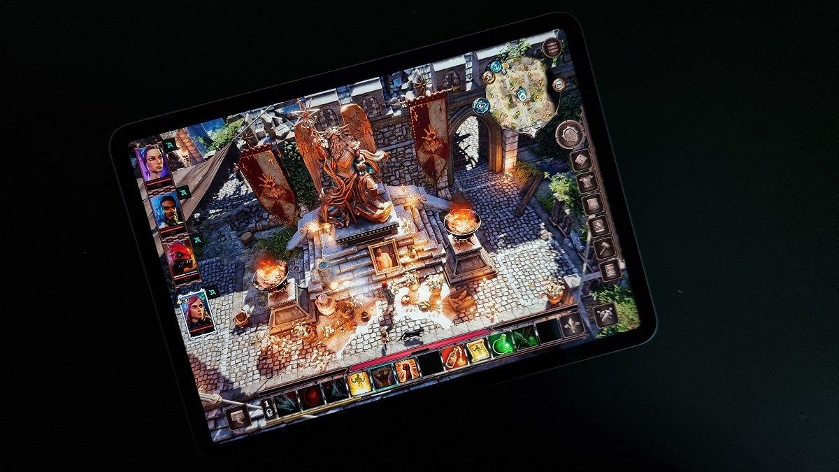 آیپد پرو M1 در زمان اجرای بازیها تا ۲۰ وات انرژی مصرف میکند