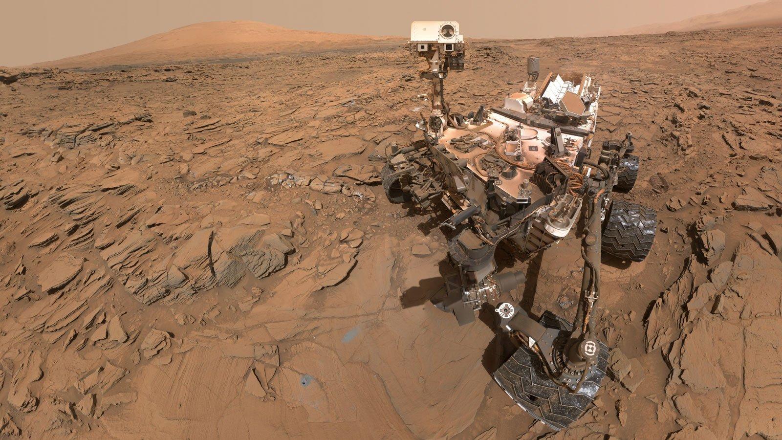 مریخنورد کنجکاوی شواهدی از نمکهای ارگانیک در مریخ پیدا کرد