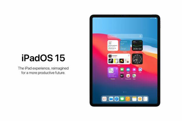 موفقیت آیپد پرو ۲۰۲۱ در گروی سیستم عامل iPadOS 15