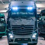 مرسدس بنز اولین کامیون لوکس بازار را راهی خط تولید کرد؛ تنها 400 دستگاه برای عاشقان آکتروس edition 2