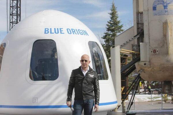 تاریخ اولین پرواز توریستی با فضاپیمای بلو اوریجین مشخص شد