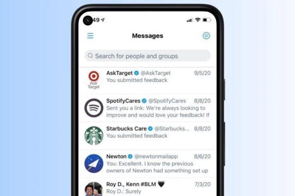 توییتر امکان جستجو در دایرکت مسیج را سادهتر میکند