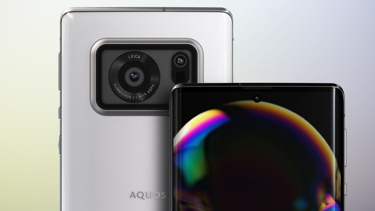 شارپ Aquos R6 با دوربین ۱ اینچی لایکا و نمایشگر ۲۴۰ هرتزی معرفی شد