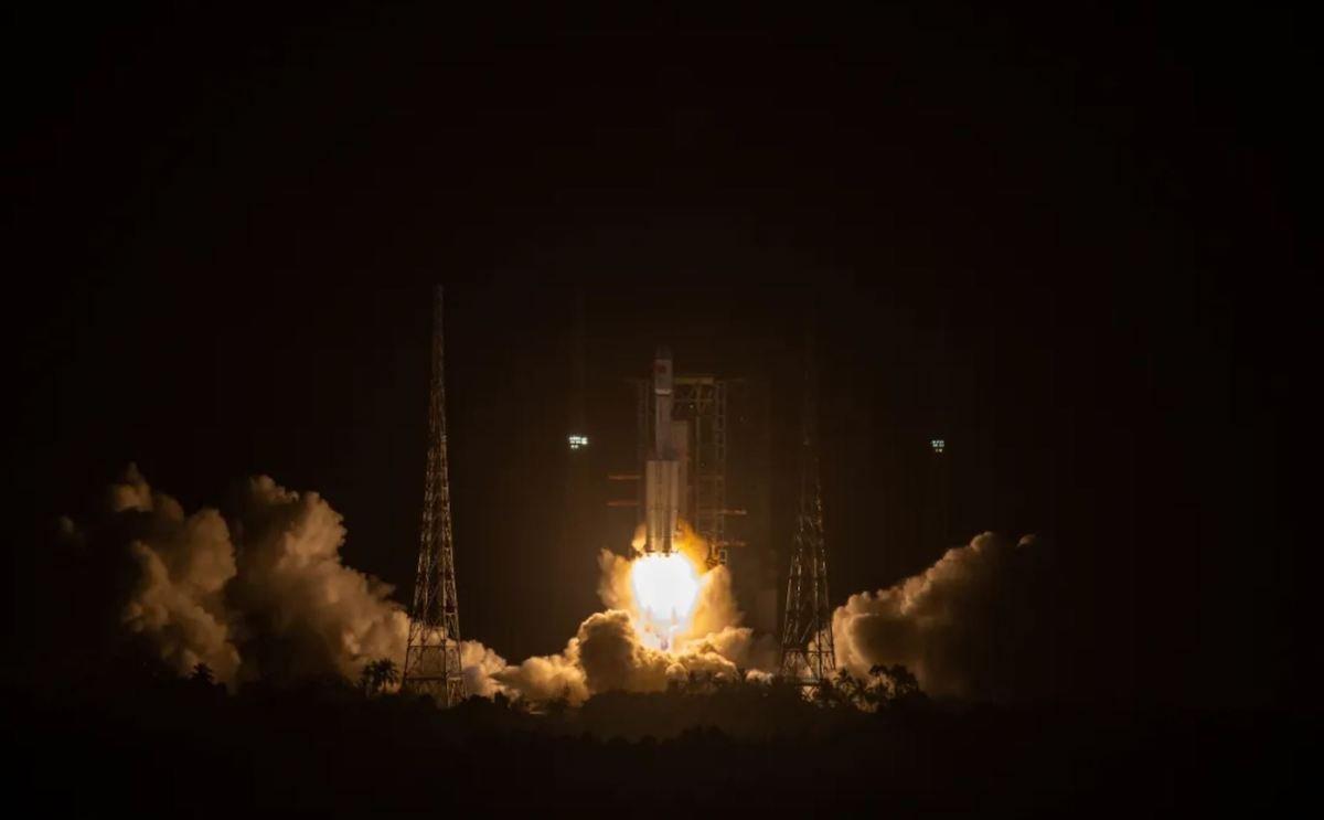 چین محموله جدیدی را برای احداث ایستگاه فضایی خود به مدار فرستاد