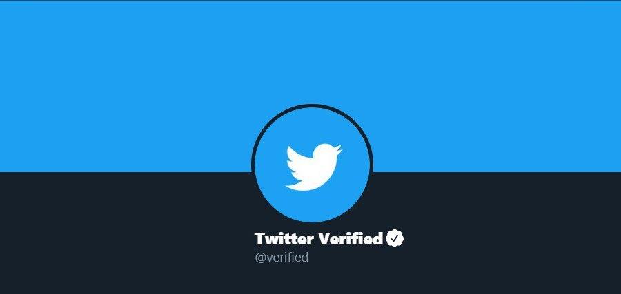 تیک آبی توییتر
