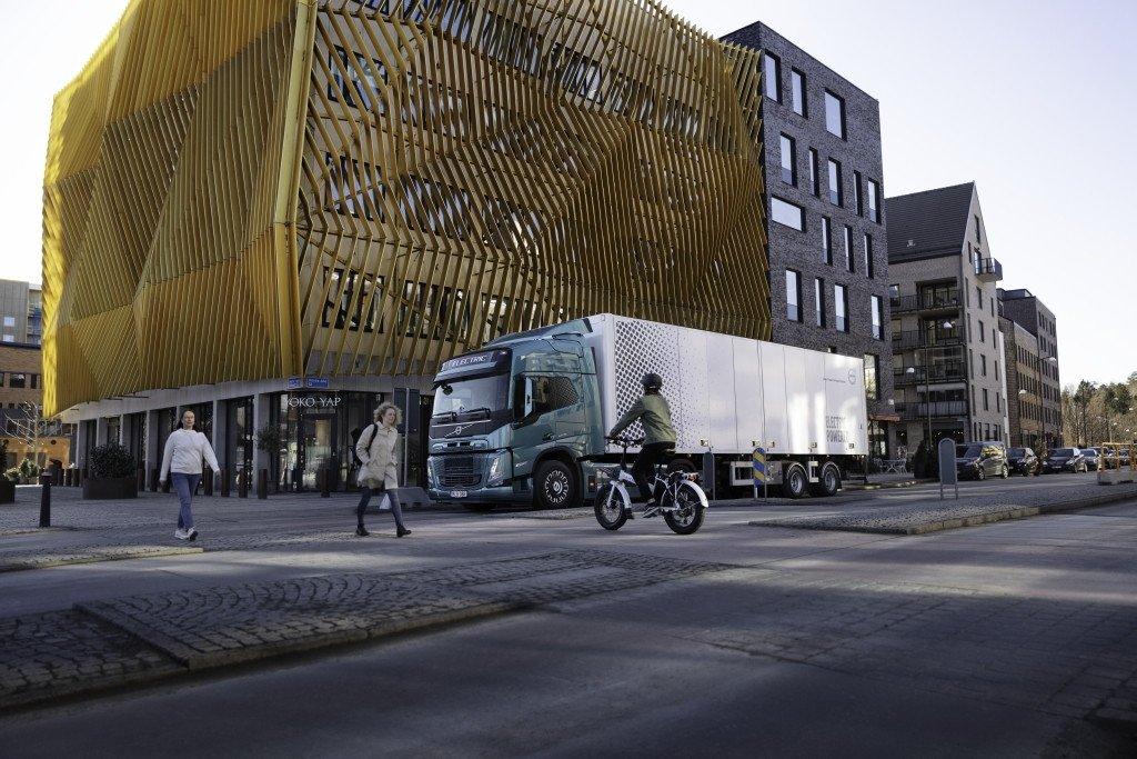 صدای مخصوص کامیونهای برقی ولوو برای افزایش ایمنی [تماشا کنید]