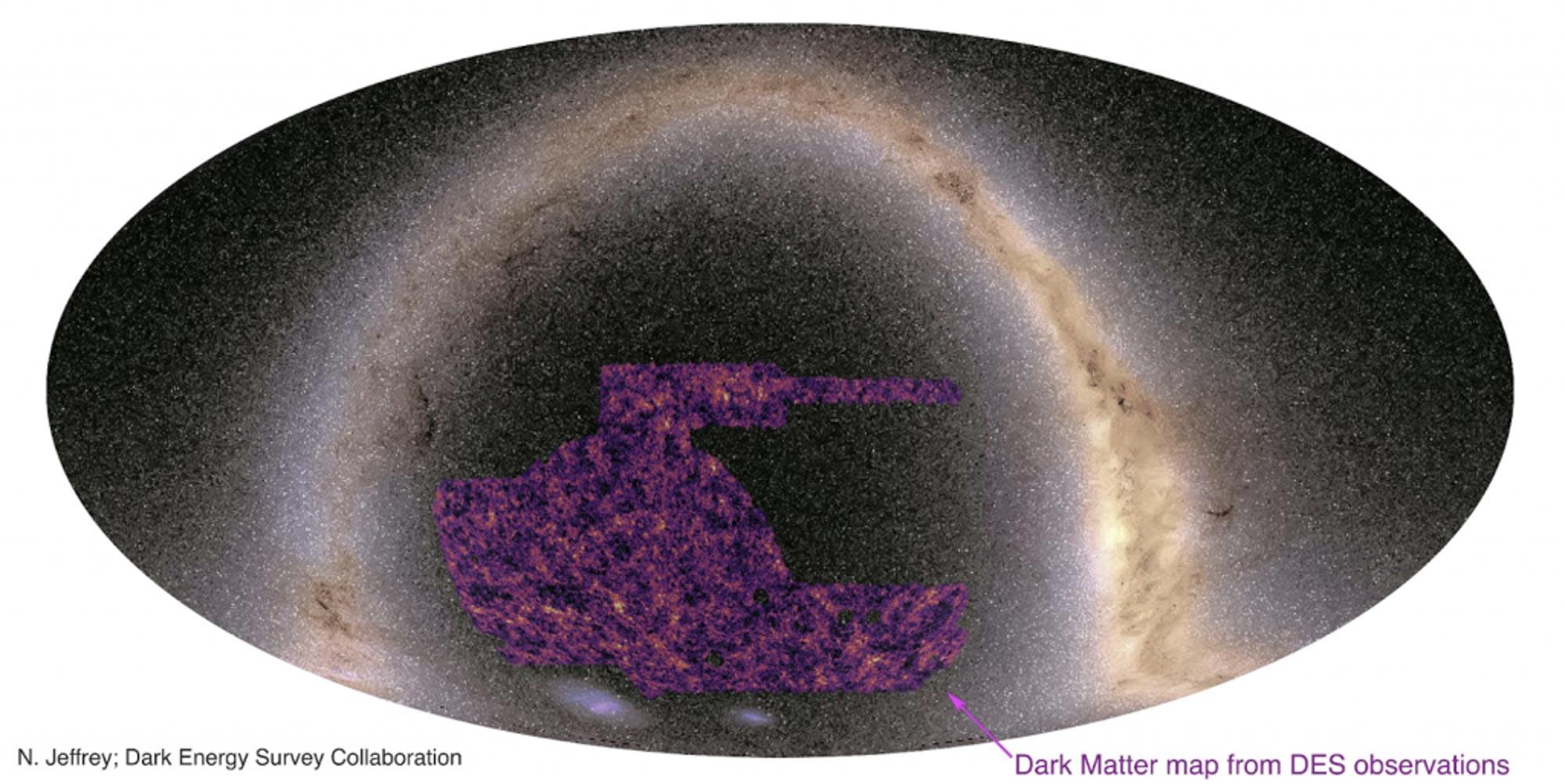 نقشه ماده تاریک