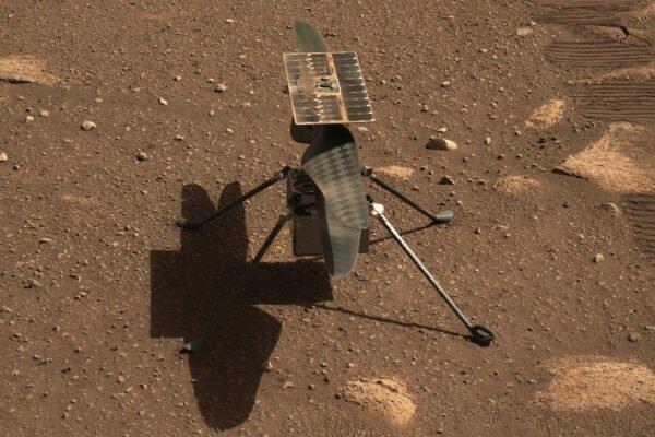 هلیکوپتر نبوغ در هشتمین پرواز خود ۱۶۰ متر مسافت را با موفقیت در مریخ طی کرد