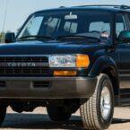 رکورد قیمت تویوتا لندکروزر ۱۹۹۴ شکسته شد؛ جهش عظیم ارزش خودروهای کلاسیک در جهان