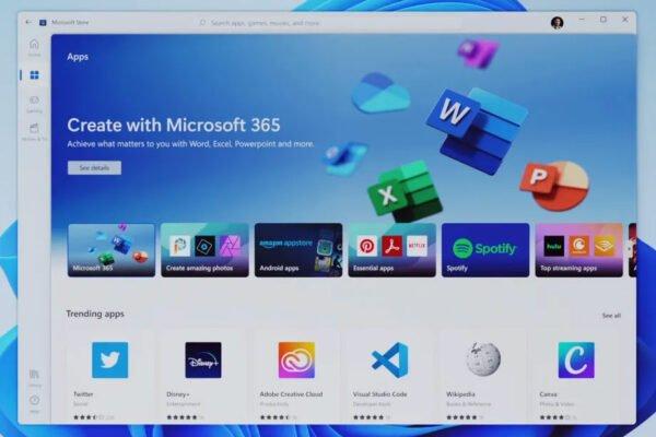 مایکروسافت استور جدید ویندوز ۱۱ معرفی شد؛ پرداخت همه درآمد اپها به توسعهدهندگان