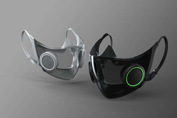 ماسک تنفسی هوشمند ریزر با طراحی و ویژگیهای متفاوت پاییز وارد بازار میشود