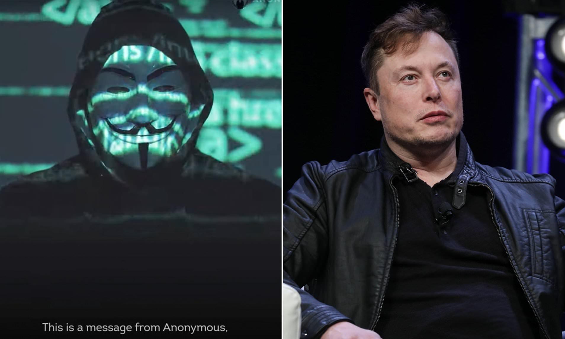 ویدیوی تهدیدآمیز هکرهای گروه Anonymous به ایلان ماسک [بروزرسانی]