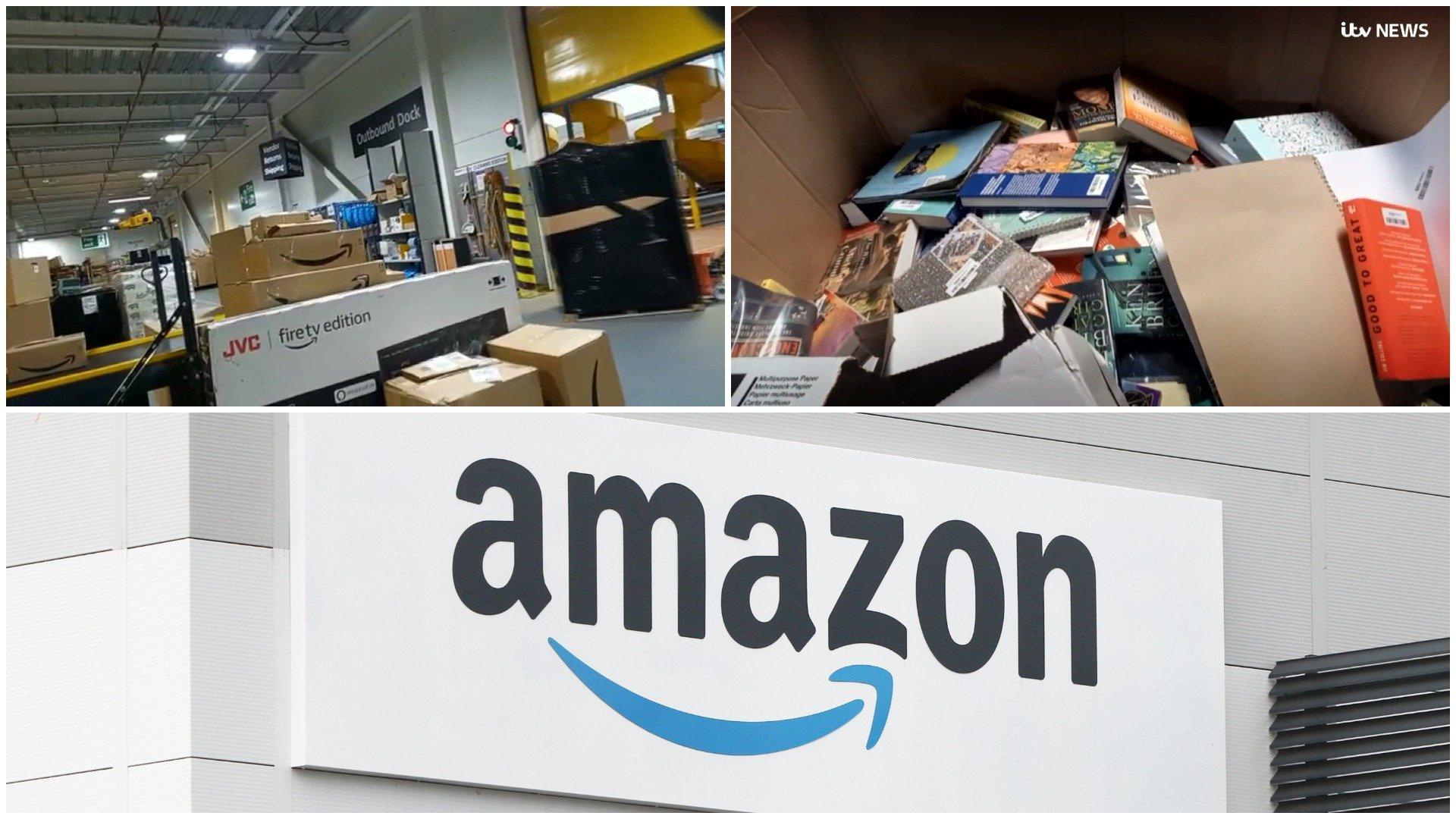 انبارهای آمازون سالانه میلیونها محصول فروخته نشده را از بین میبرند