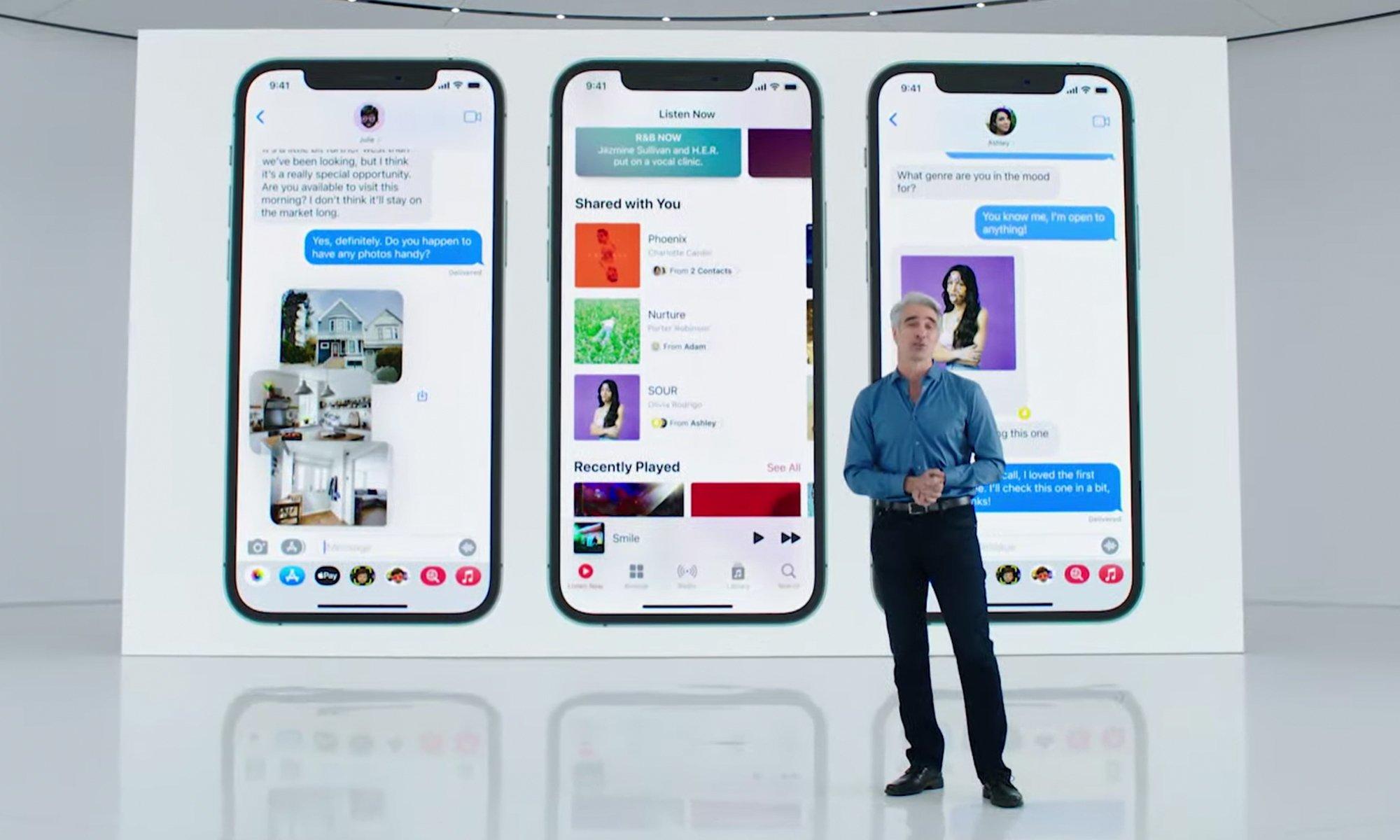 اپ پیام رسان اپل به ویژگیهای پیشرفته اشتراک گذاری مجهز شد