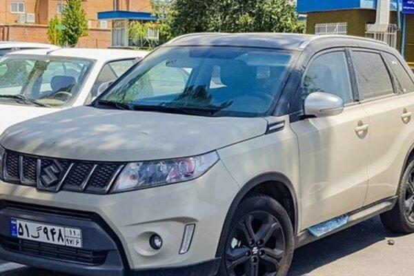 سوزوکی ویتارا جدید در ایران خودرو دیده شد