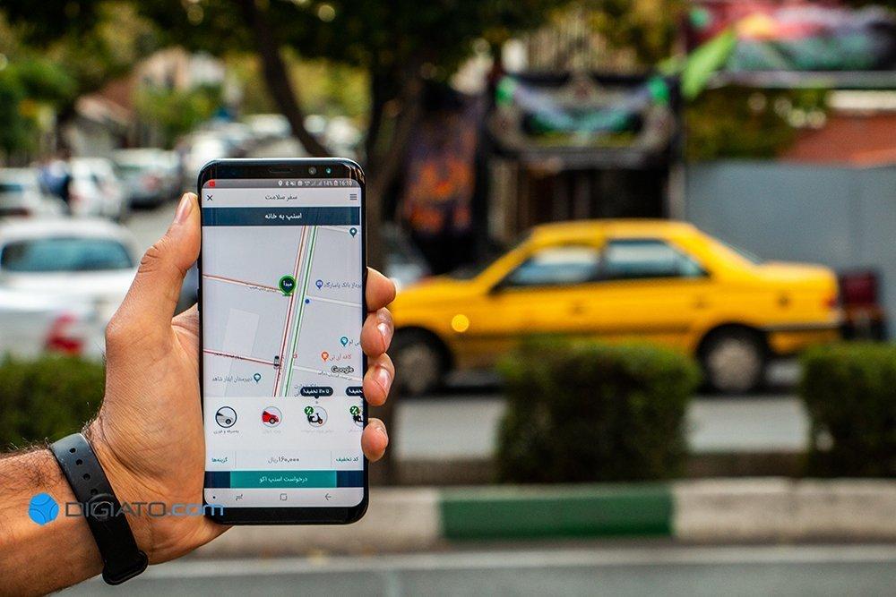 تغییر قیمت تاکسیهای اینترنتی: افزایش تقاضای سفر، متهم ردیف اول