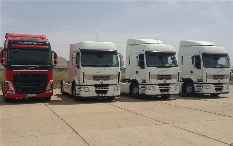 ثبت سفارش ۲۷۰۰ کامیون دست دوم با عمر کمتر از سه سال