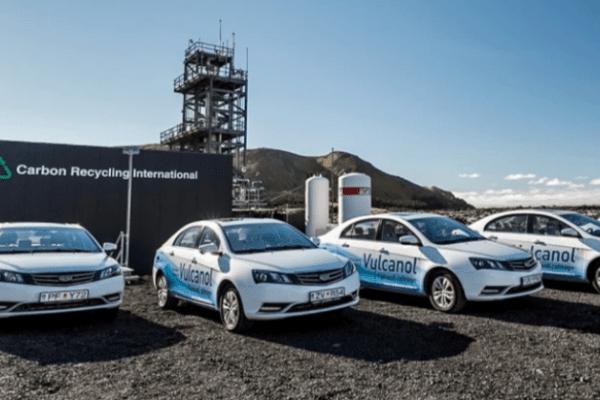 متانول تولید شده از گازهای CO2 آتشفشان؛ راه حل جدید برای نجات موتورهای احتراق داخلی