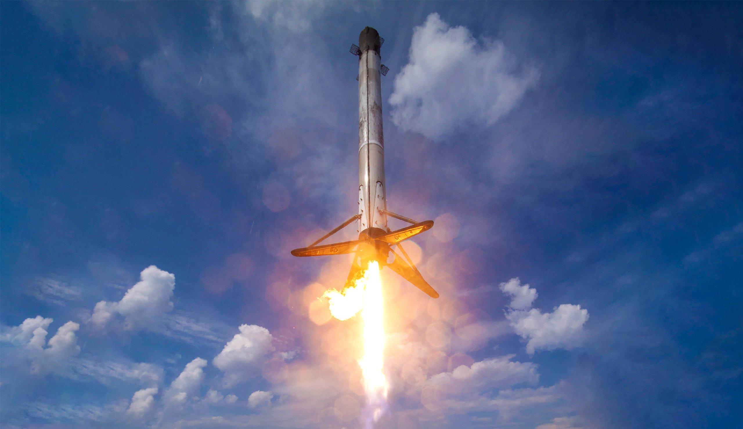اسپیس ایکس برای اولین بار در ماموریت نظامی آمریکا از راکت جدیدی استفاده نمیکند