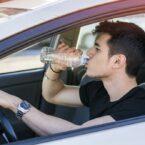 نتیجه مهم یک تحقیق: خطر رانندگی هنگام تشنگی مانند رانندگی در حالت مستی است