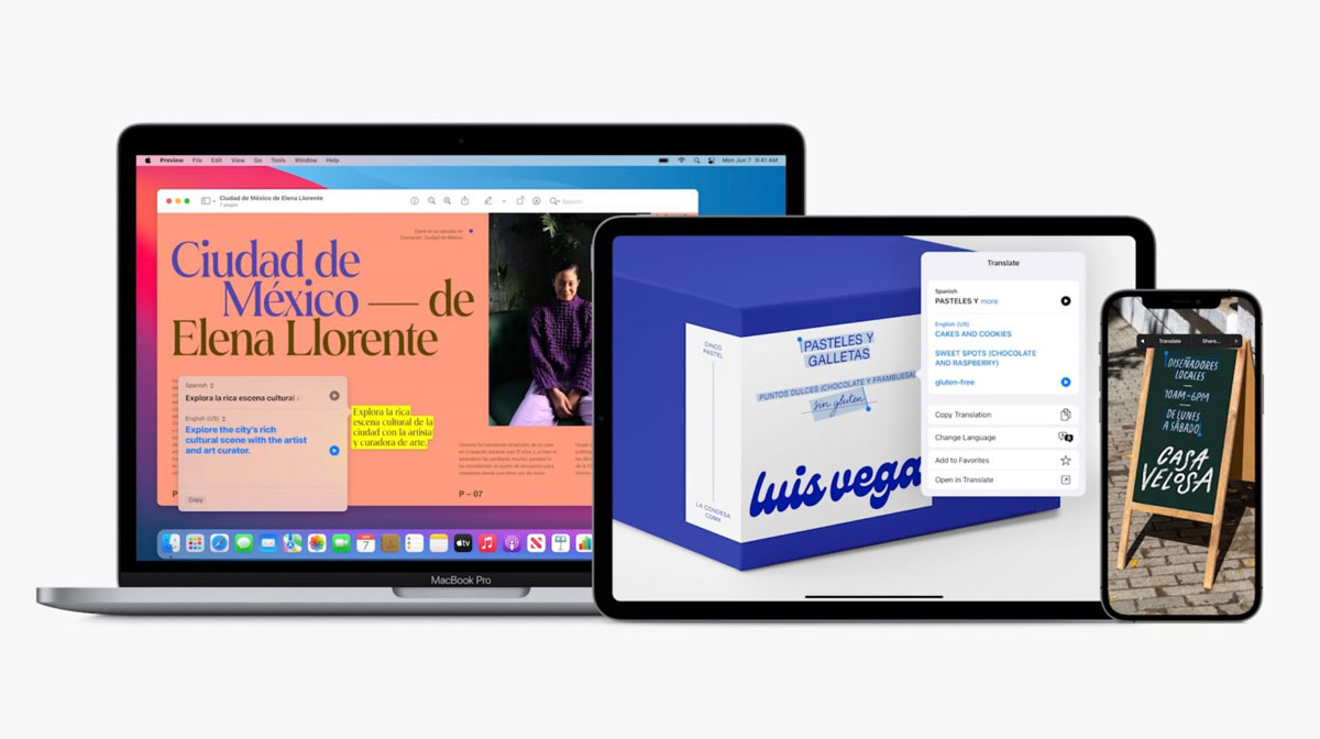 اپل اپلیکیشن ترجمه را برای iPadOS 15 عرضه میکند