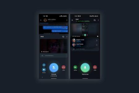 جدیدترین نسخه بتای تلگرام با قابلیت اشتراکگذاری نمایشگر در گروهها منتشر شد