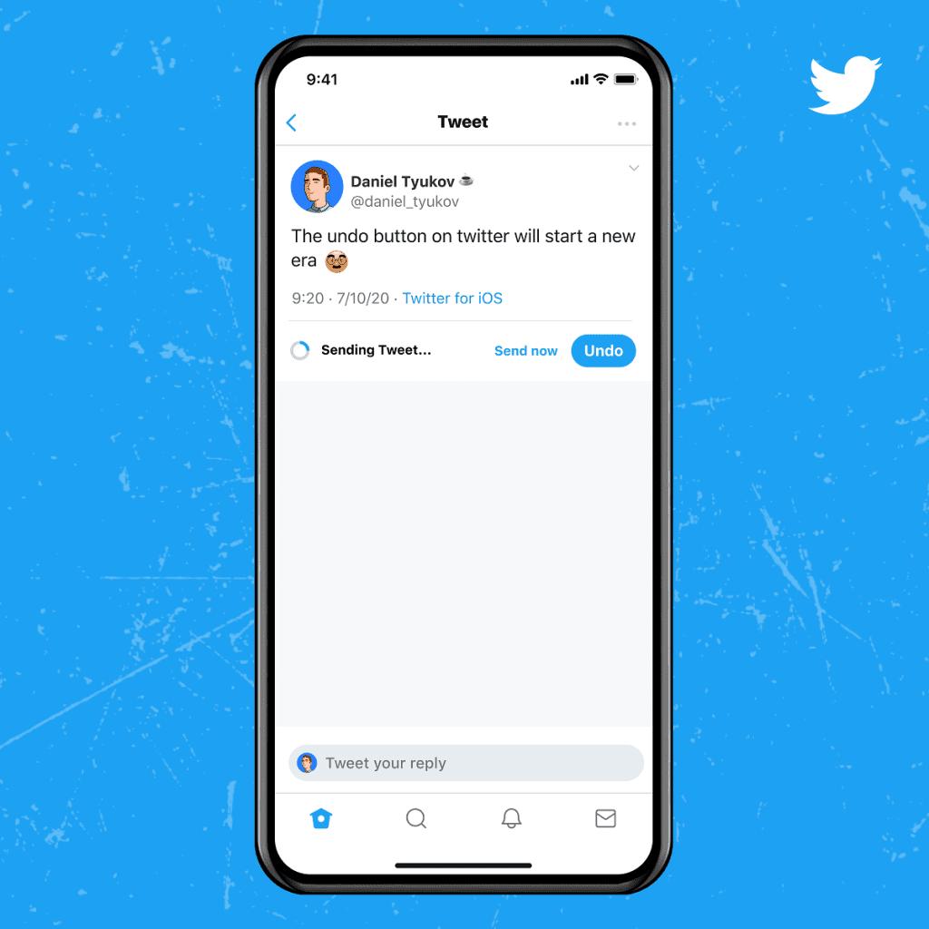 توییتر آبی