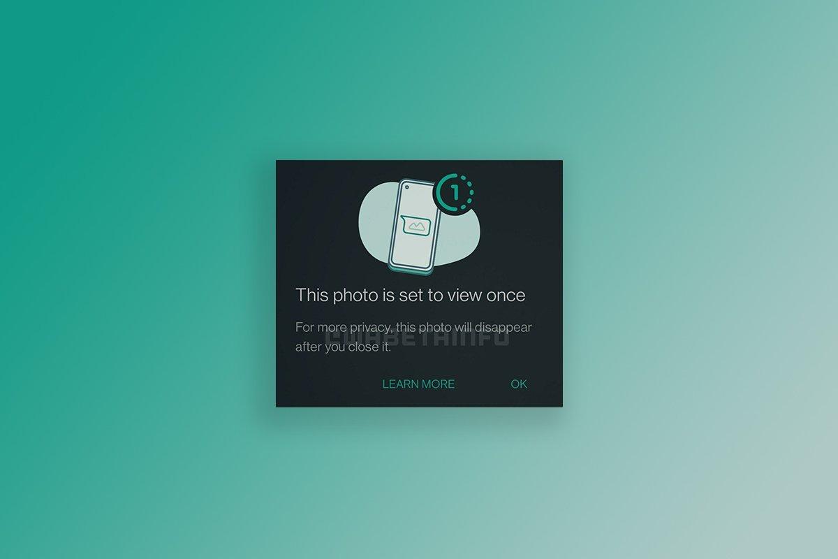 واتساپ بهزودی ارسال تصاویر و ویدیوهای ناپدید شونده را برای اندروید ممکن میکند