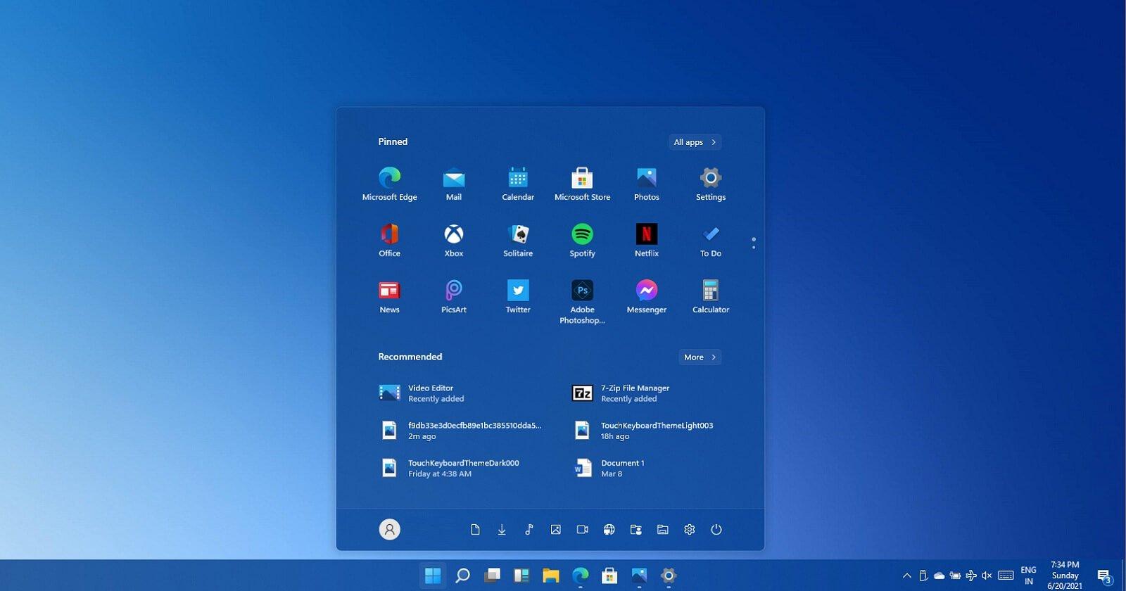 ویندوز ۱۱ با ژستهای لمسی و پنجره پاپآپ صدای جدید از راه میرسد