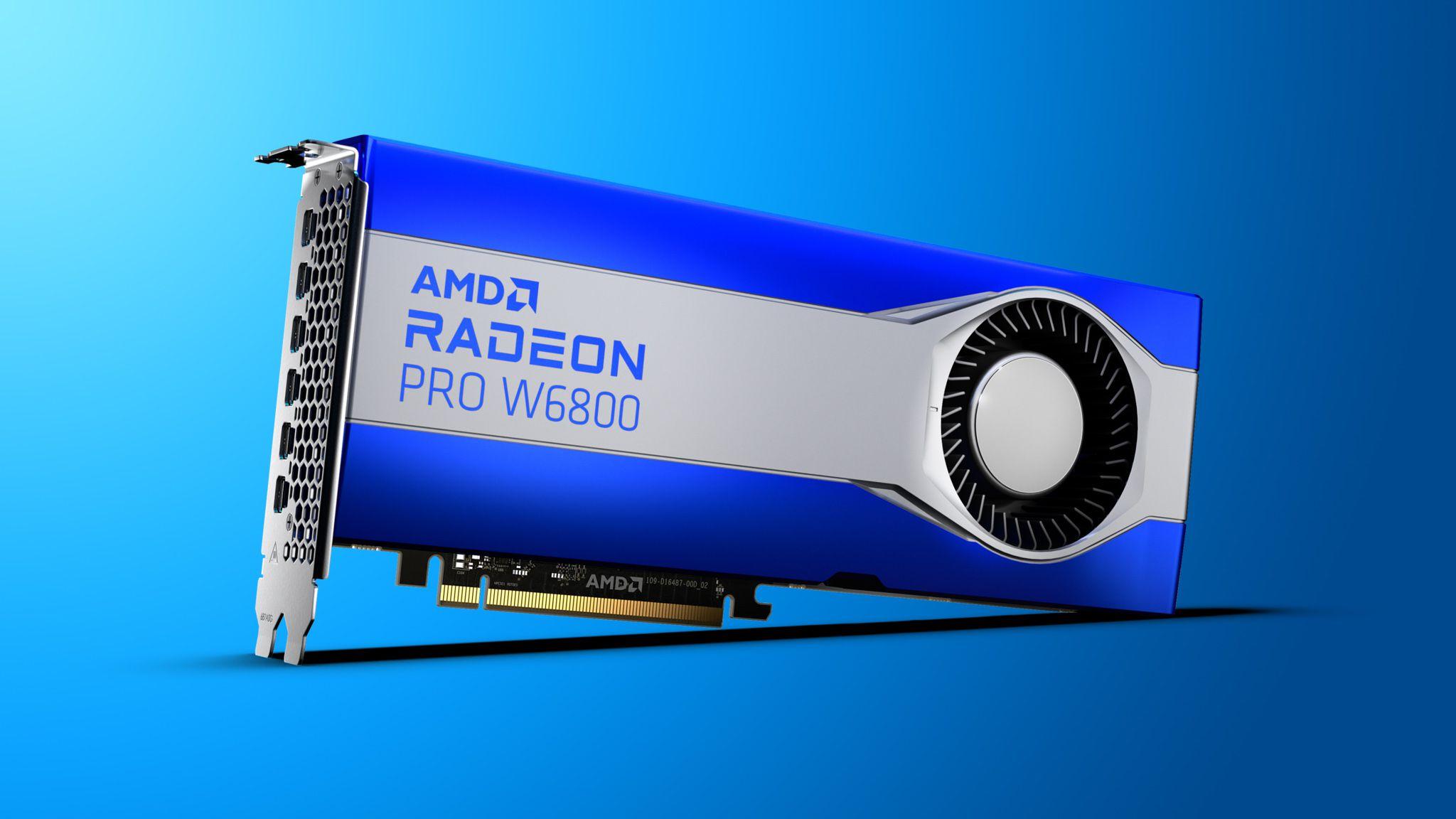 AMD رادئون پرو W6000