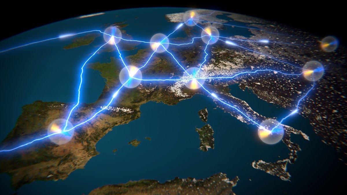 ساخت شبکه کوانتومی غیرقابل هک ۶۰۰ کیلومتری با فیبر نوری