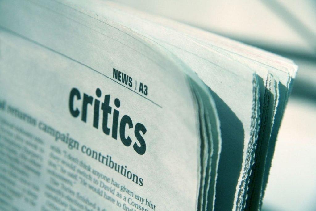 ترس از انتقاد