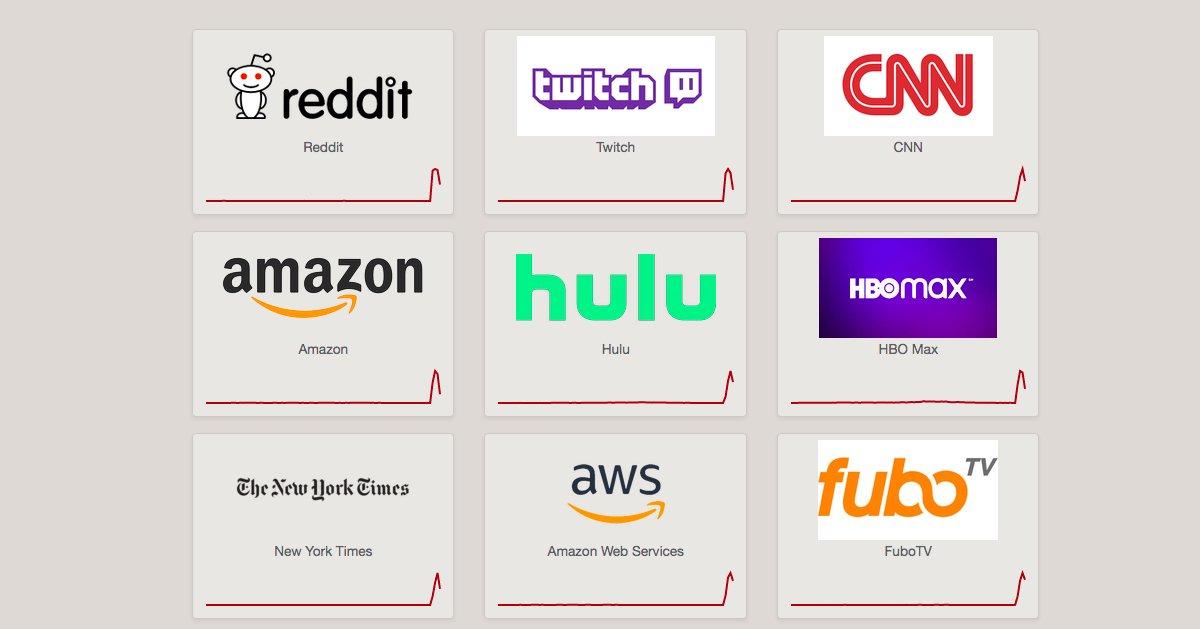 قطعی سرویس CDN، بسیاری از سایتهای مطرح جهان را از دسترس خارج کرد