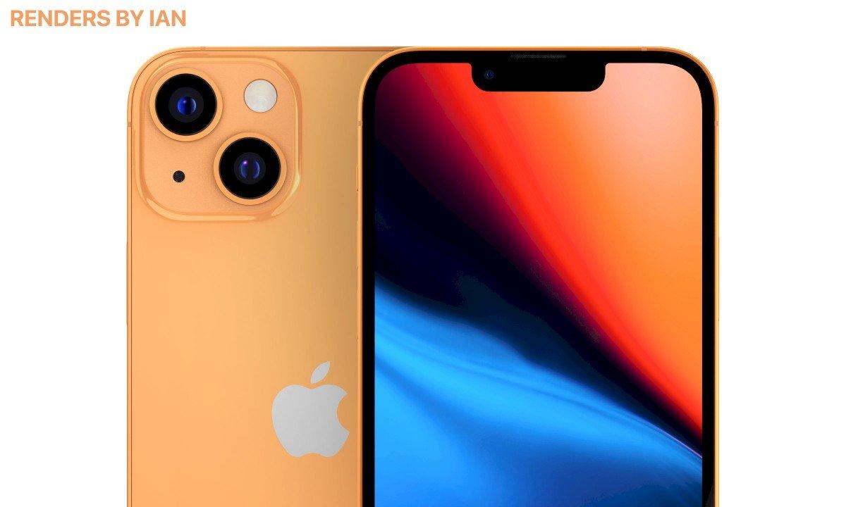 آیفون ۱۳ نارنجی