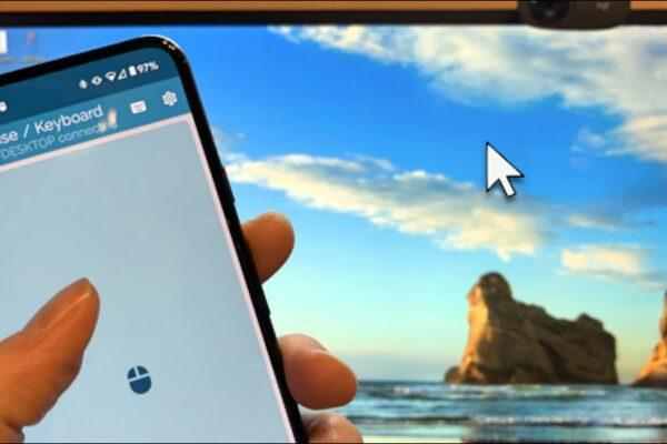 چگونه از گوشی اندرویدی خود به عنوان ماوس یا کیبورد استفاده کنیم؟