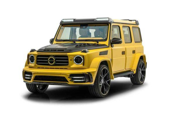 منصوری گرونوس معرفی شد؛ تبدیل مرسدس AMG G63 به هیولای زرد ۸۵۰ اسب بخاری
