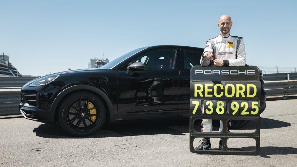 پورشه کاین توربو کوپه رکورد سریعترین شاسی بلند پیست نوربرگ رینگ آلمان را شکست
