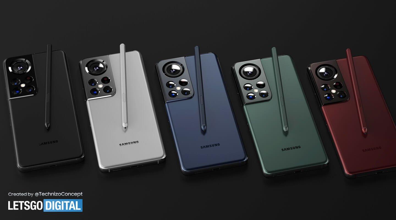 گوشیهای سری گلکسی S22 با سبک طراحی جدید از راه میرسند