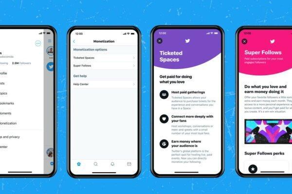 توییتر امکان ثبتنام برای آزمایش Super Follows و Ticketed Spaces را فراهم کرد