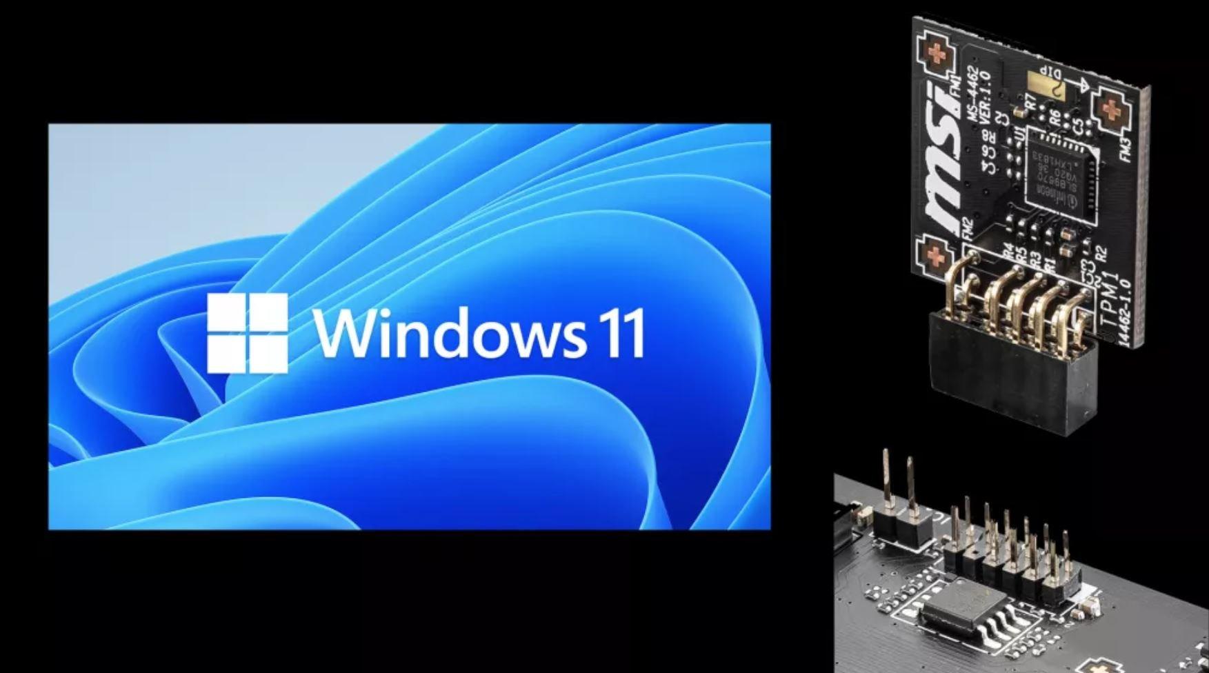ویندوز ۱۱ را میتوان روی برخی سیستمهای خاص بدون نیاز به TPM نصب کرد