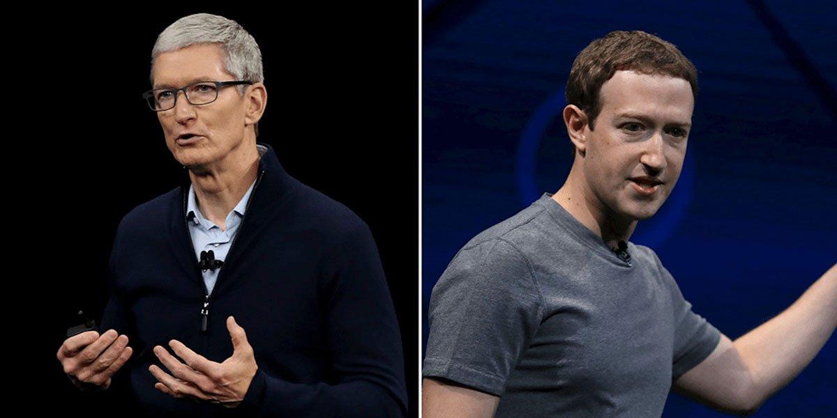 مارک زاکربرگ در حین برگزاری کنفرانس اپل بار دیگر از این شرکت انتقاد کرد