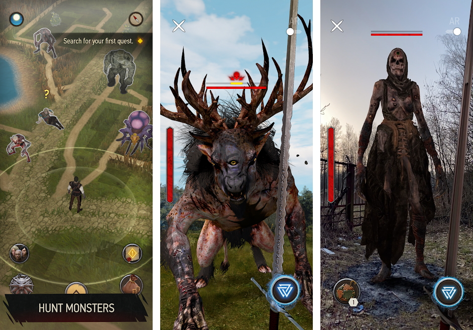 معرفی بازی The Witcher: Monster Slayer؛ ماجراجویی ویچر ادامه دارد