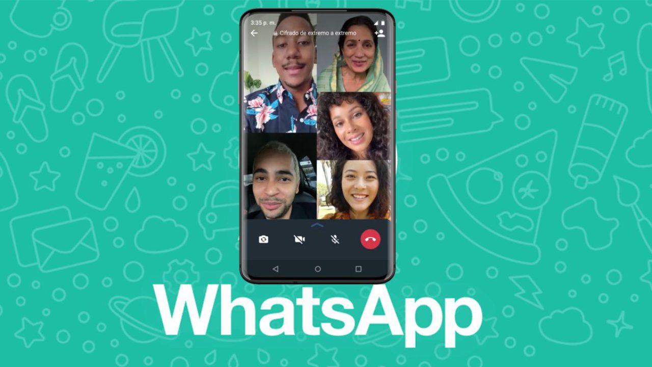 واتساپ پیوستن به تماسهای تصویری گروهی در جریان را ممکن کرد