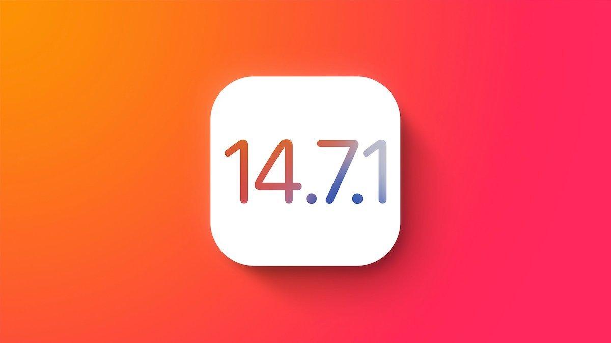 آپدیت iOS 14.7.1 برای رفع باگ قفلگشایی اپل واچ با تاچ آیدی منتشر شد