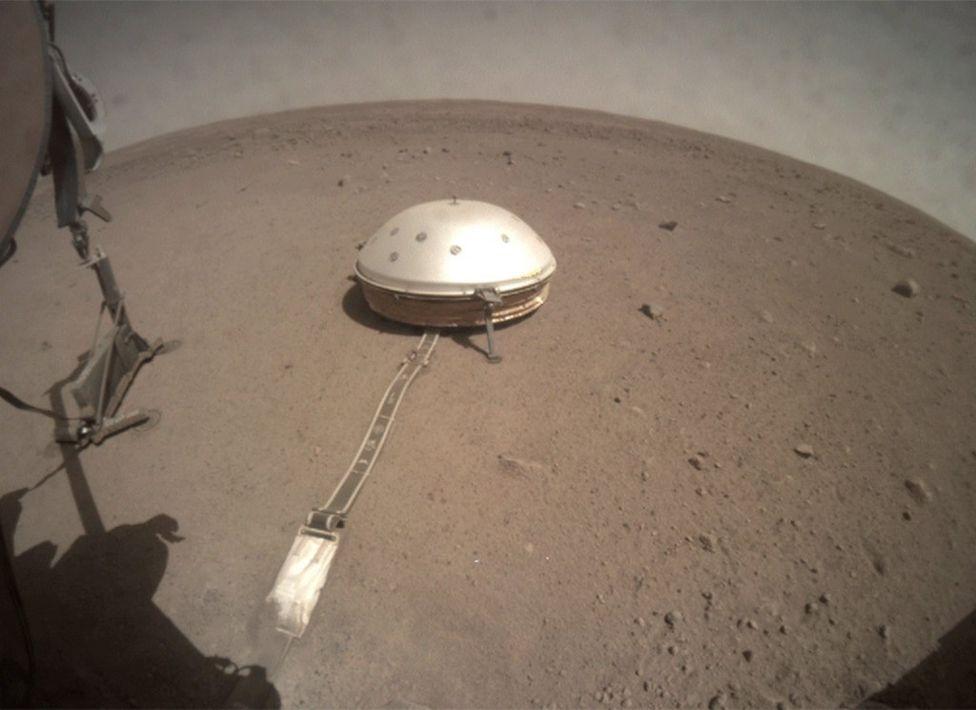 مریخنشین اینسایت ناسا نقشهای از ساختار درونی مریخ تهیه کرد