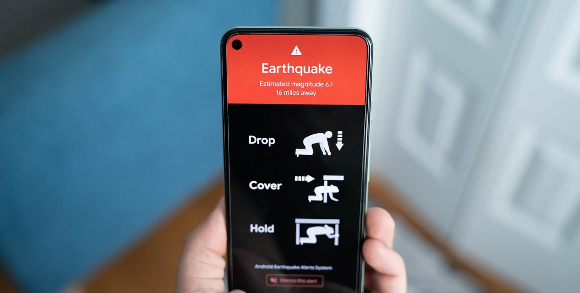 سیستم لرزهنگار اندروید زلزله فیلپین را چند ثانیه پیش از وقوع به کاربران هشدار داد