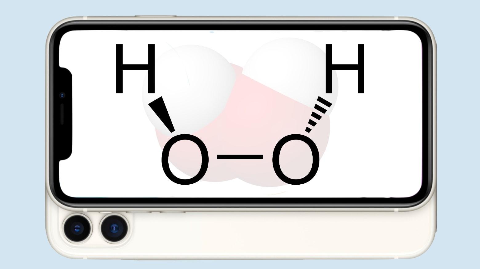اپل: از هیدروژن پراکسید برای تمیز کردن دستگاهها استفاده نکنید