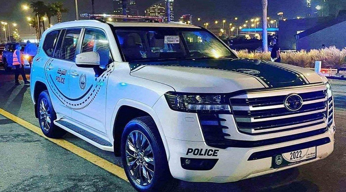 پلیس دوبی لندکروز 2022