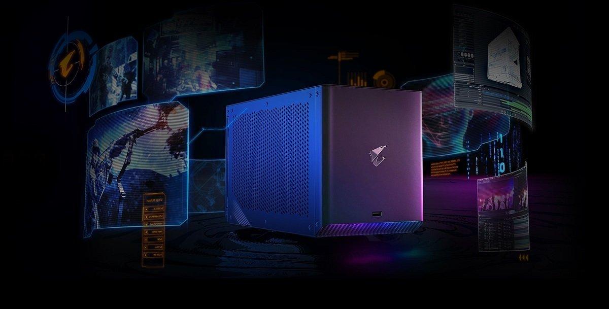 گیگابایت AORUS RTX 3080 Ti Gaming Box